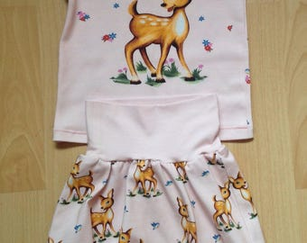 T-Shirt - bloomers as set Gr. 74