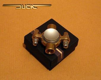 Steampunk Brass Fidget Spinner Toy