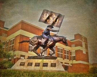 Oklahoma State University Bullet-(image is horizontal)