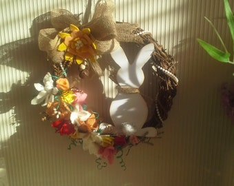 Easter Bunny Wreath