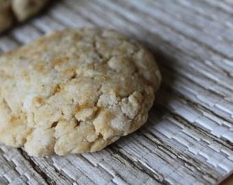 Two Dozen Ginger Tea Protein Cookies- Vegan, Vegetarian, Gluten Free, Sugar Free, Paleo, Clean Eating
