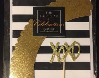 XOXO Celebrations Cupcake Party Pack