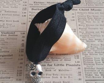 Skull Hair Tie, hair accessories, skull accessories, skull favors, skull charms, Party favors, loot bag, kawaii accessories