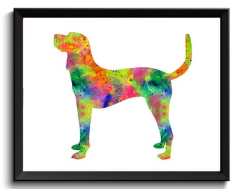 Digital Chesapeake Bay Retriever Art -Chesapeake Bay Art Print, Dog Wall Art, Chesapeake Bay Retriever Poster, Printable Dog Art