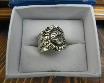 sterling silver spoon ring size 7.25