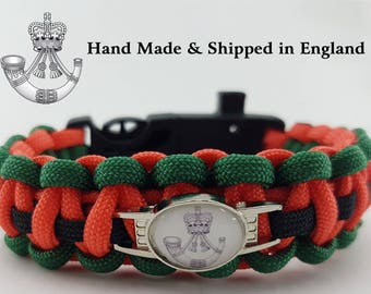 The Rifles Regimental Paracord Bracelet Wristband Great Gift