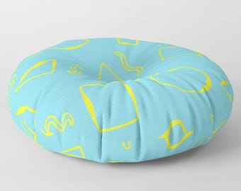 Washable Floor Pillows : Floor seating Etsy