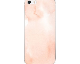 Pink Watercolour Phone Case for Android and iPhone Devices
