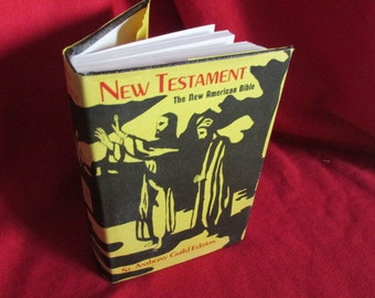 New Testament, The New American Bible: The St. Anthony Guild Edition