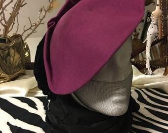 Fusia Vintage Hat