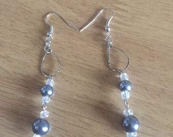 Single drop earrings