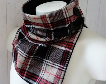 men snood scarf , men snood , collar