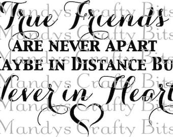 Digital file SVG True Friends