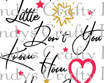 SVG Twinkle Twinkle little Stas