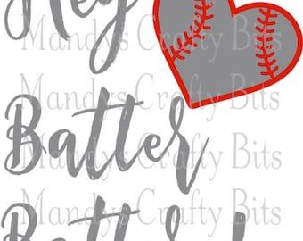 SVG Hey Batter Batter