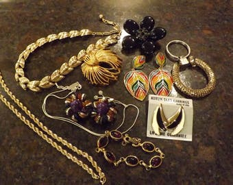 Lot of Vintage Jewelry Collection