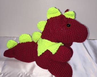 Amigurumi Dragon, Amigurumi Toy, Amigurumi, Crochet Dragon, Crochet Toy, Dragon, Handmade Dragon