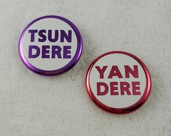 Tsundere & Yandere Buttons