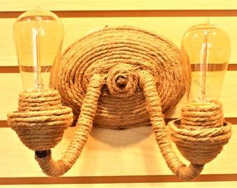 2 Light Rope Light Fixtue