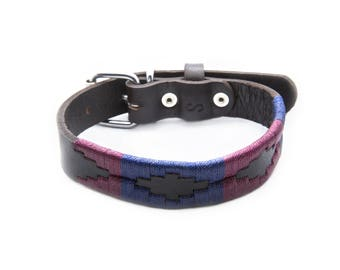 Leather Dog Collar - Napa