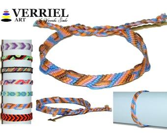 """Handmade bracelet made of 100% cotton """"Fragment"""""""