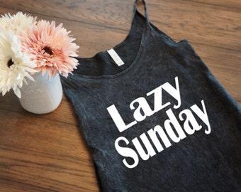 Lazy Sunday - Women's Slouchy Tank