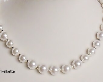 Brautschmuck perlenkette  Brautmutter schmuck | Etsy