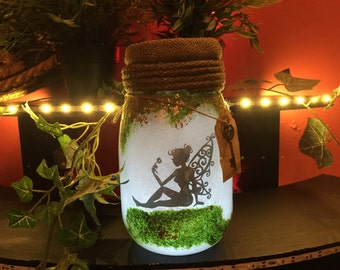 Fairy jar light.