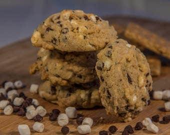 Summer S'mores Cookies (12 Cookies)