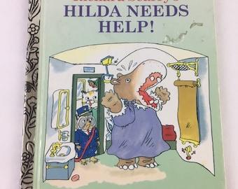 Richard Scarry's Hilda Needs Help A Little Golden Book 1993
