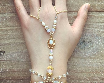 Opal Hand Chain