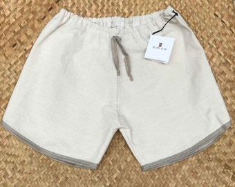 Retro Cotton Board Short