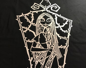 Sally from Nightmare Before Christmas t-shirt