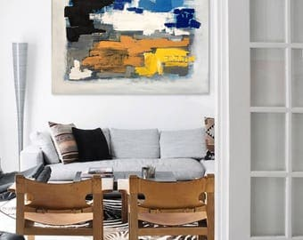 Abstract Acrylic Painting - Abstract Art - Abstract Expressionism - Abstract Painting - Original Abstract Painting - Contemporary Art