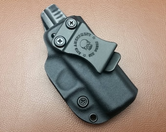 Concealer IWB kydex holster w/ adjustable retention, ride height or cant for glock, springfield, s&w, hk, ruger, 1911. Great for edc.