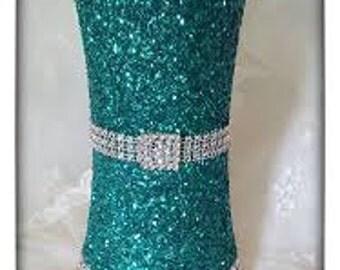 Old Hollywood Glitz & Glamour Vase