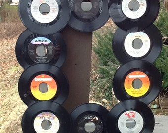 Recycled Vinyl Record Wall Art
