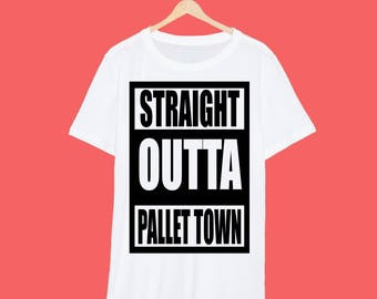 Straight Outta Kanto Pallet Town T Shirt