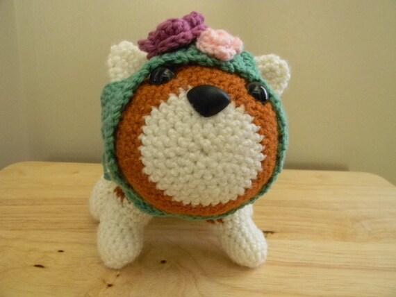Amigurumi Crochet Plush Softy Stuffed Animal Toy Cat, Soft Sculpture, Ginger, Neko Atsume