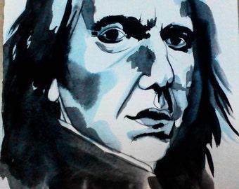 Severus Snape Illustration