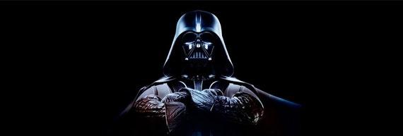 921 Star Wars Darth Vader Rear Window Tint Perforated