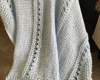 Baby Blanket - Light Blue