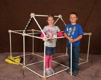 Toydle Huge! - Kid's Fort Kit - Lifetime Warranty