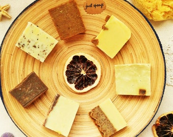 Natural Hand Made Soaps, Olive Oil, Daphne, Cinnamon, Clove,Juniper Tar,Grape Seed,Lavender,Treatment acne,Bath,Spa,Beauty,Housewarming Gift