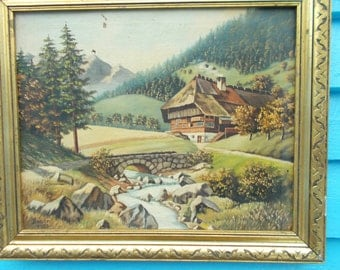 painter artist alpine - Google Search | painting landescape alpine ...