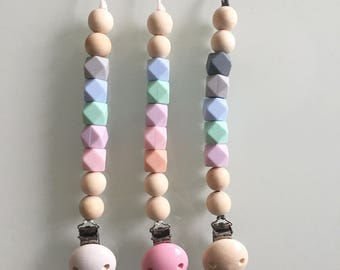 Baby Soother chain silicone beads
