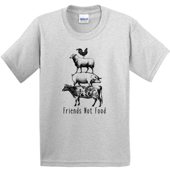 Friends Not Food Vegan T-shirt