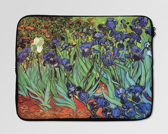 Van Gogh Irises Laptop Sleeve Case LSC-0033