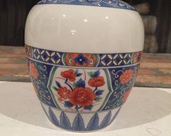 Tiffany & Co Chinoiserie Floral Vase- Home Decor- Centerpiece Vase