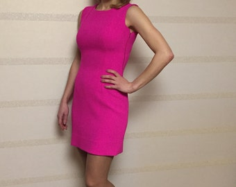 Pink dress/ bright dress/ will dress/ party dress/ special occasion dress